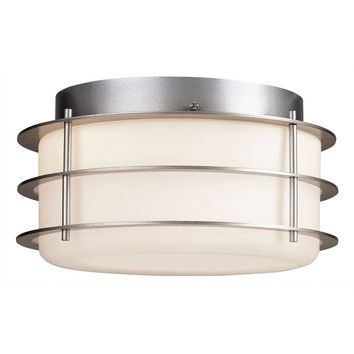 Philips Forecast Lighting Philips Forecast Lighting Hollywood Hills 2 Light Outdoor Flush Mount