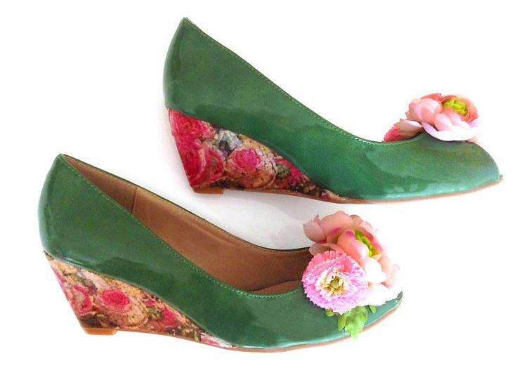 FlowerPowerPeeptoes *Statement! Hippie Schuhe von Lebenslust2in1 auf DaWanda.com
