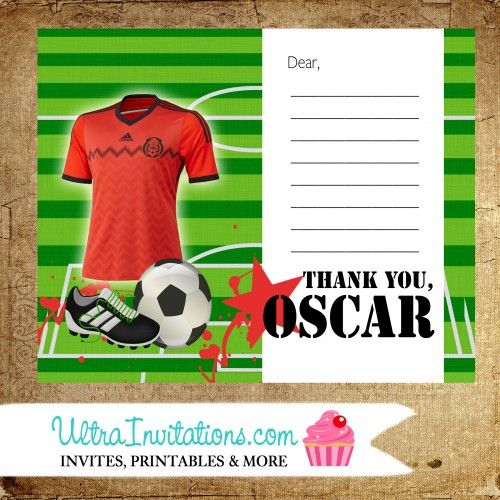 17 Best Images About Soccer Birthday Party Theme On