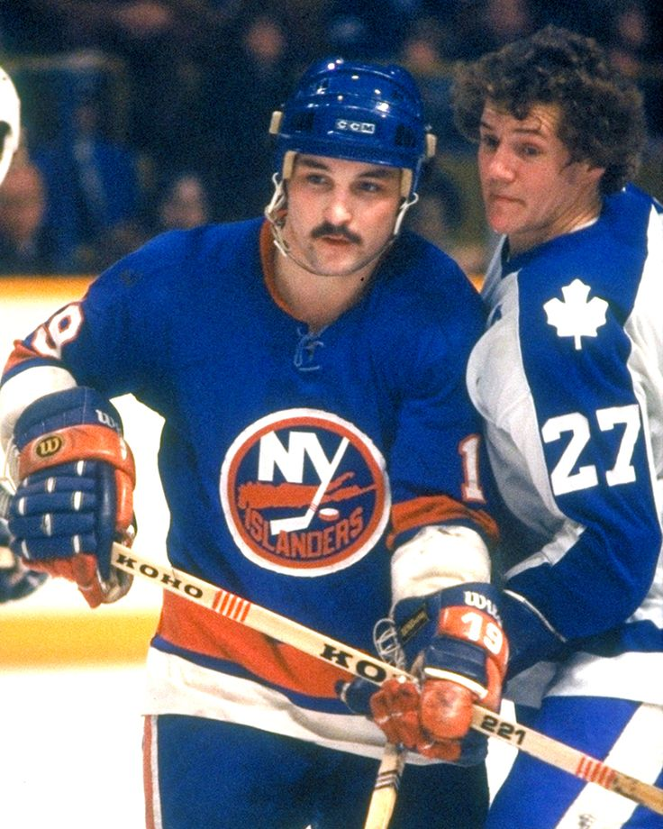 Bryan Trottier and Darryl Sittler | New York Islanders | Toronto Maple Leafs | NHL | Hockey