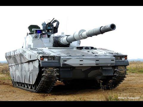 CV90120-T Light Tank | Military-Today.com - YouTube