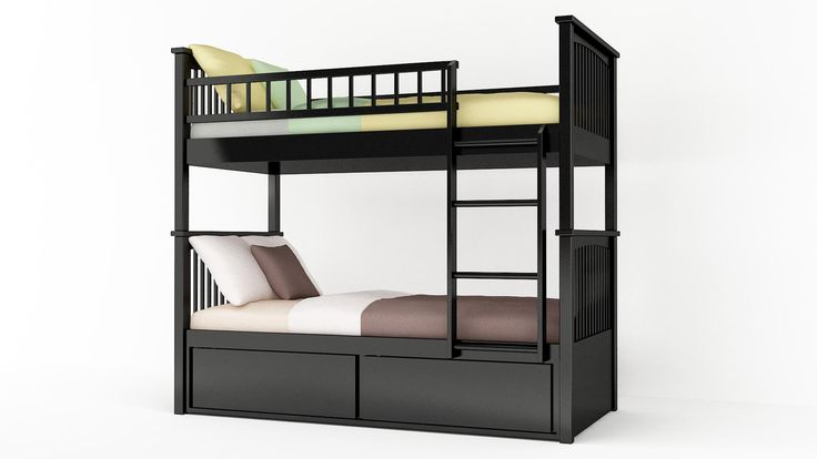 #modernbed #bunkbed #contemporary #bedroom #interior #style #space #furniture #design #modern #bed #simple #home #wooden #wood #bed #room #decor #bedzu #black