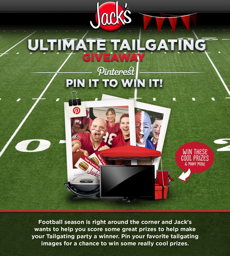 Enter to win Jack's Hamburgers Ultimate Tailgating Giveaway! Show us your Pinterest skills and pump up your tailgating experience this football season with great prizes from Jack's Hamburgers! #eatatjacks #tailgating #football: Middle School, Golden Tiger, Football Season
