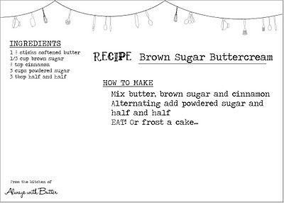 Zuckerguss für Snickerdoodle Cake. Katie hat das heute gemacht – zu Kuchenbällchen, Überzug …