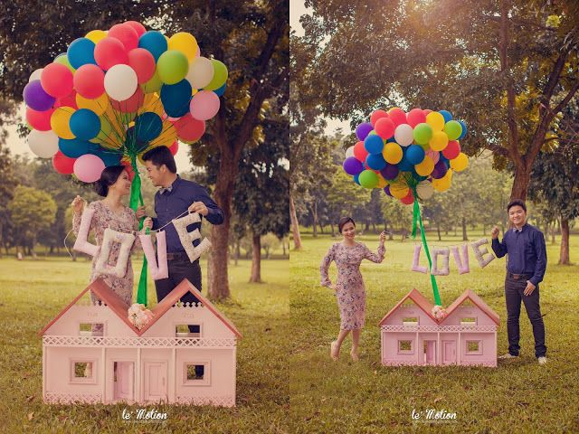 Up! Prewedding Theme. See more at www.lemotionphoto.com