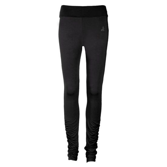 Curare Leggings Rolldown Tight schwarz