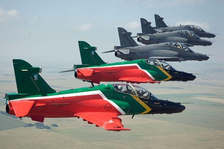 Denel Aviation. Hawk trainers.