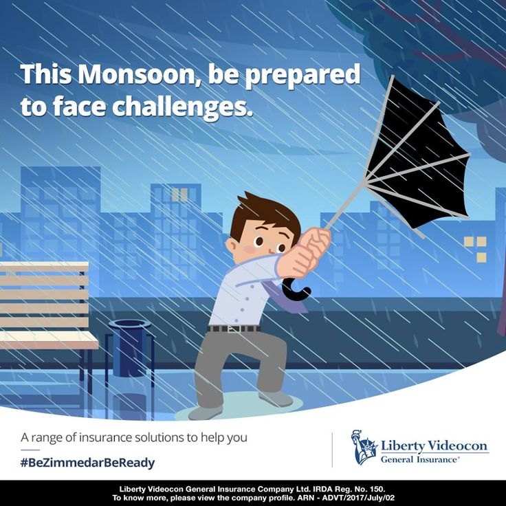 The monsoon season can be your one source for water-borne diseases or road accidents. Take the right precautions to keep yourself protected. #BeZimmedarBeMonsoonReady