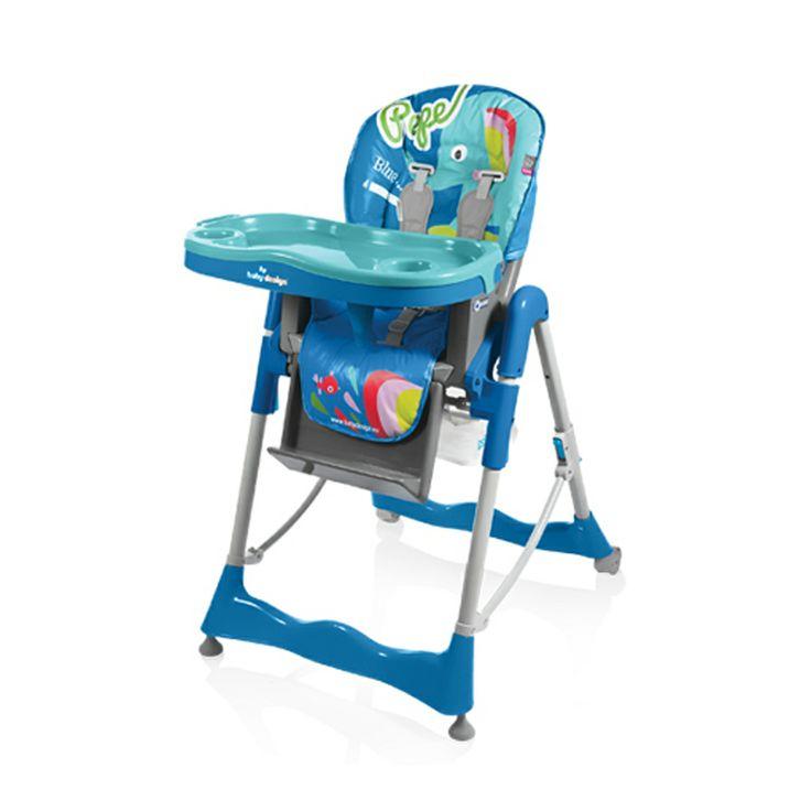 Scaunul Masa Baby Design Pepe Colors este un scaun de masa multifunctional care se recomanda copiilor cu varste cuprinse intre sase luni si trei ani. Inaltimea, spatarul si sezutul sunt reglabile pentru a putea corespunde nevoilor dumneavoastra. Scaunul Baby Design este imbracat intr-o husa lavabila si are colturile rotunjite pentru a evita eventualele accidente.