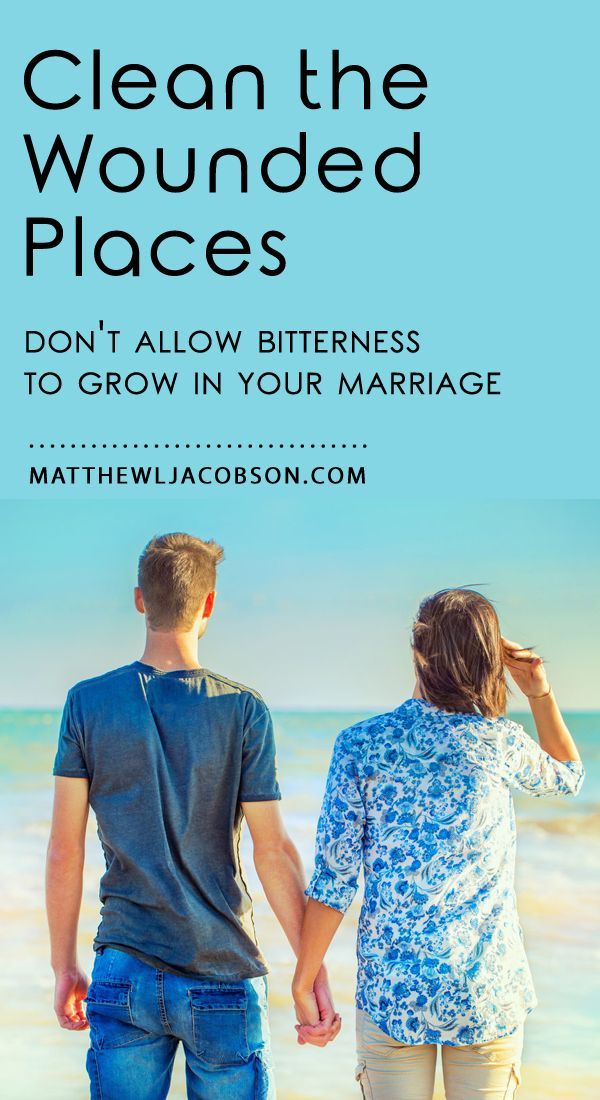 Relational wounds left untreated, unaddressed, take down marriages. What should you do if you have a wound from your spouse?