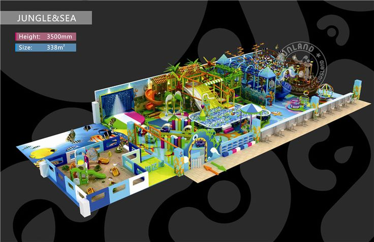 lefunland indoor playground equipments, children's indoor playground, soft play, kids indoor playground