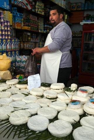 Cheese seller, street market, Medina, Tetouan, UNESCO World Heritage Sites, Morocco !