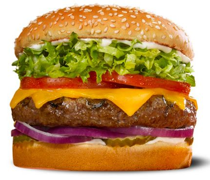 Hidden, Healthy Fast-Food Finds: Red Robin's Petite Burger #SelfMagazine