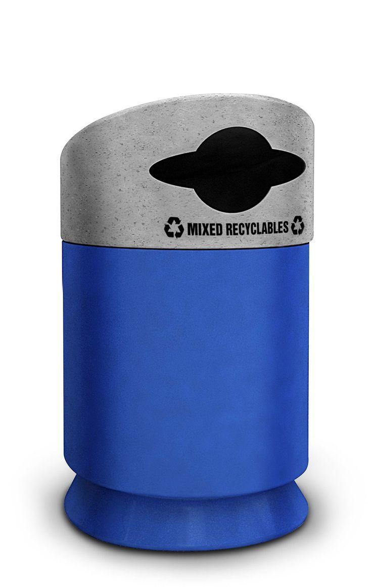 Galaxy 30-Gal Industrial Recycling Bin