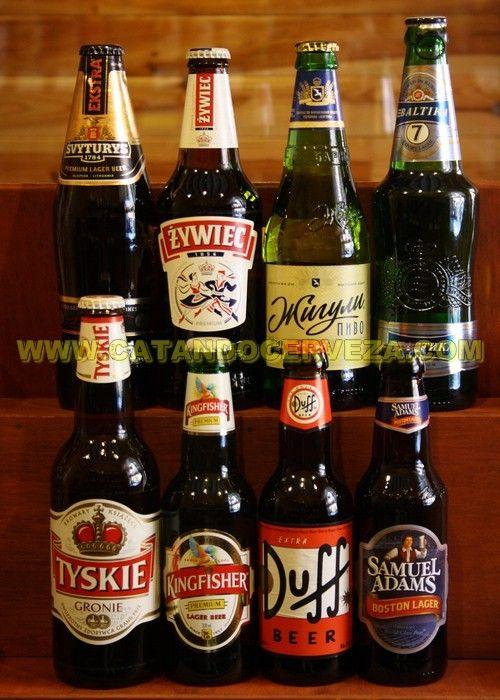 Pack #cerveza rubia clásica Internacional