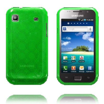 Amazona (Grønn) Samsung i9003 Galaxy SL Deksel
