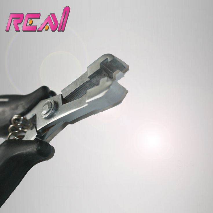 New Style Black Pliers For Hair Extension, Hair Extension Pliers for Flat Tip Pre Bonded Hair Extensions