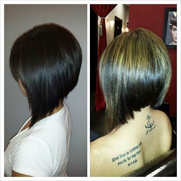 love the cut angled bob