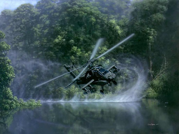 AH-64 Apache Helicopter. My husband worked on these for four and a half years in Afghanistan as civilian support mechanic and inspector for the U.S. military. Everyone should also remember the U.S. civilians and their families for their sacrifices to help support the military. They work under the same conditions as the soldiers.