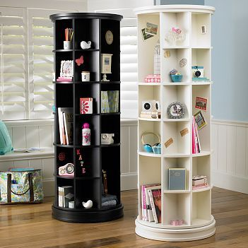 Revolving Bookcase - $599- if these were cheaper, I would be in heaven...