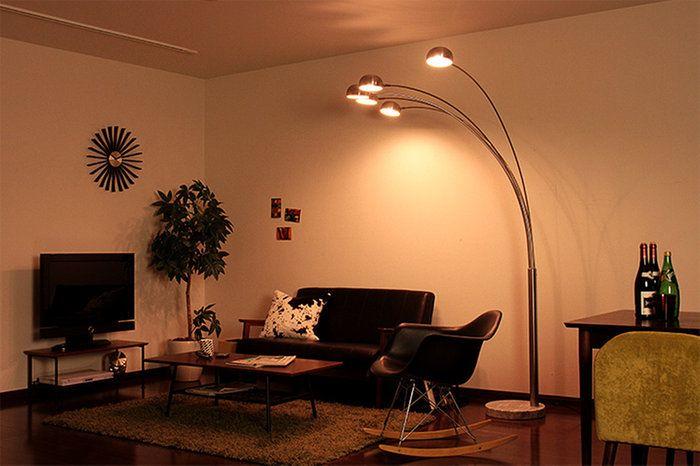 【送料無料】フロアライト5灯ツリーフロアライト[Treefloorlight]ディティール[DETAIL]932スチール大理石【照明器具インテリア照明スタンドライトスタンドライトランキングリビング用照明インテリア照明寝室北欧テイスト】