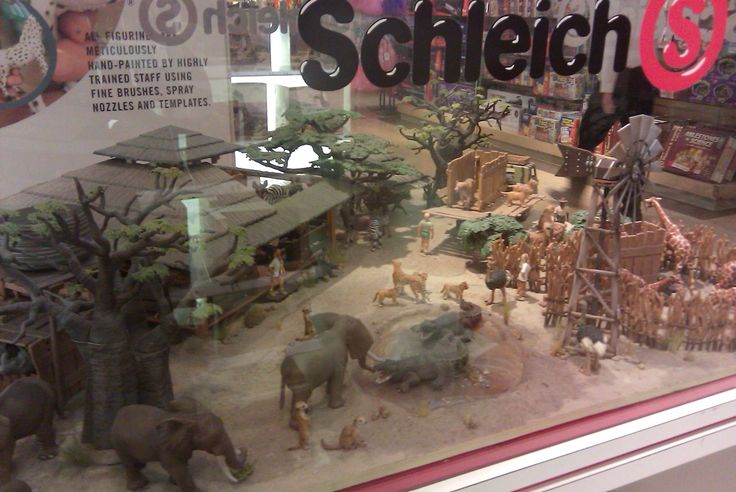 For anyone not familiar, German toymaker Schleich  makes quality, hand painted action figures.  Some of my favorites are the African safari ...