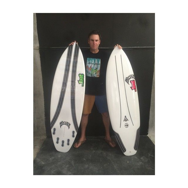 """@mayhemb3_mattbiolos with a few @lostsurfboards constructed in our patented Carbon Wrap Technology. #builttoboost #dmshq #carbonwrap #shortround #dms #lostsurfboards"" Photo taken by @dmshapes on Instagram, pinned via the InstaPin iOS App! http://www.instapinapp.com (03/04/2015)"