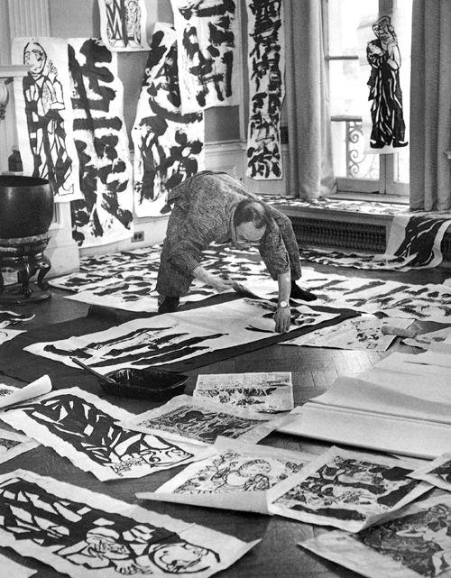 Shiko Munakata Japanese calligrapher