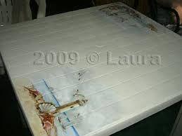 tavolino decoupage