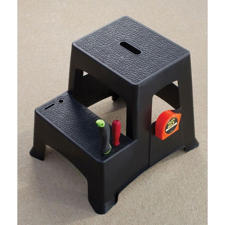 Easy Reach Gorilla Step Stool Gorilla Ladders 1 Step Steel