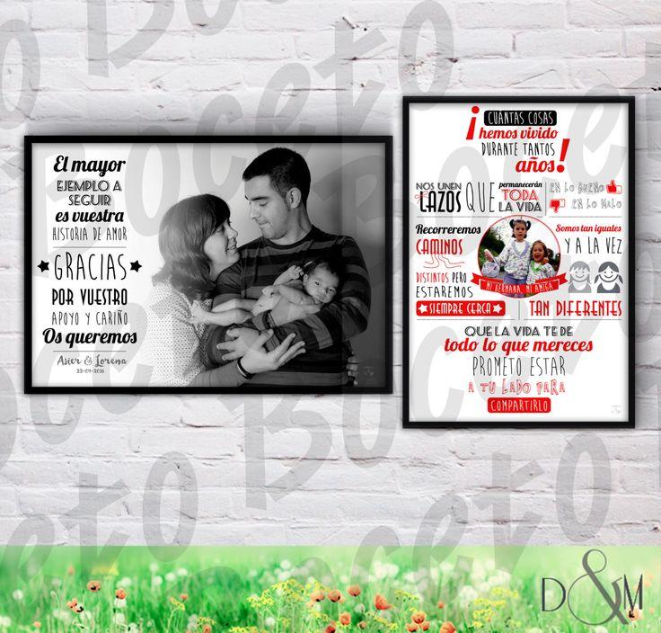 17 mejores ideas sobre regalos de boda de los padres en for Regalo especial para un hermano