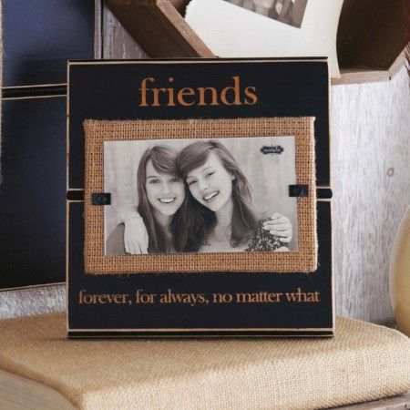 This Friends No Matter What  Picture Frame is a perfect gift for your wonderful best friend!