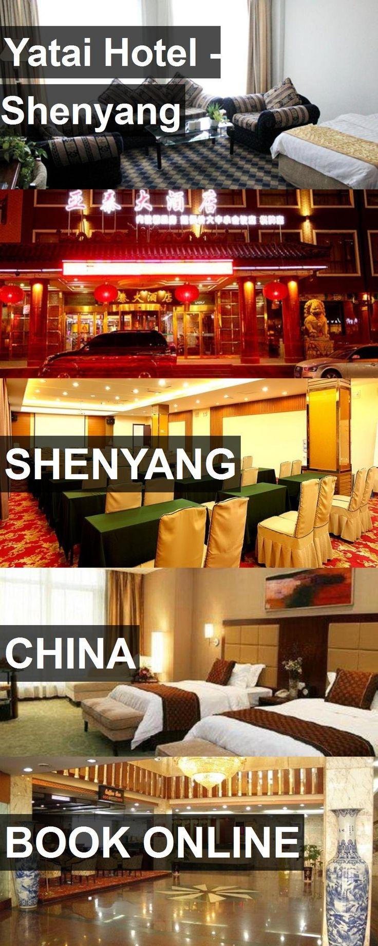 Hotel Yatai Hotel - Shenyang in Shenyang, China. For more information, photos, reviews and best prices please follow the link. #China #Shenyang #YataiHotel-Shenyang #hotel #travel #vacation