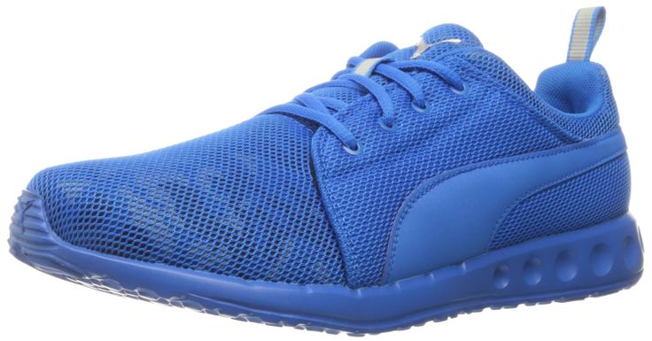 PUMA Men's Carson Cam Running Shoe, Electric Blue Lemonade, 7 M US. Cushioning along with a smooth ride.