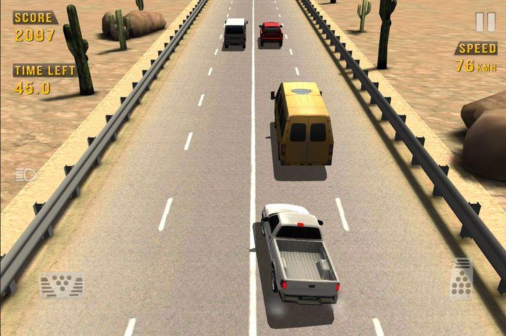 Traffic Racer: captura de tela