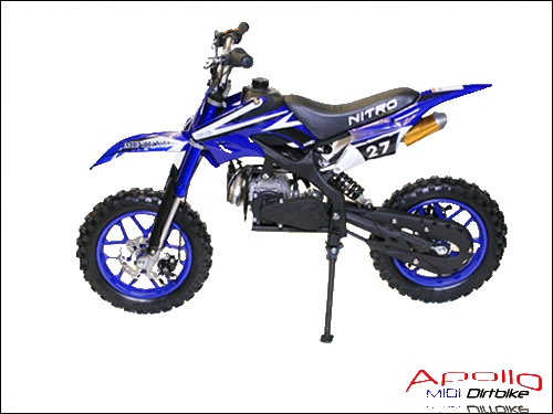 49ccm kinder crosser von apollo dirt bikes pocket. Black Bedroom Furniture Sets. Home Design Ideas