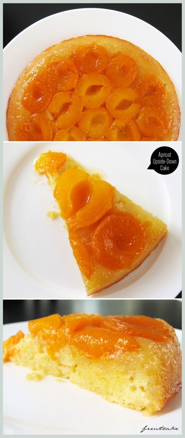 apricot upside down cake!