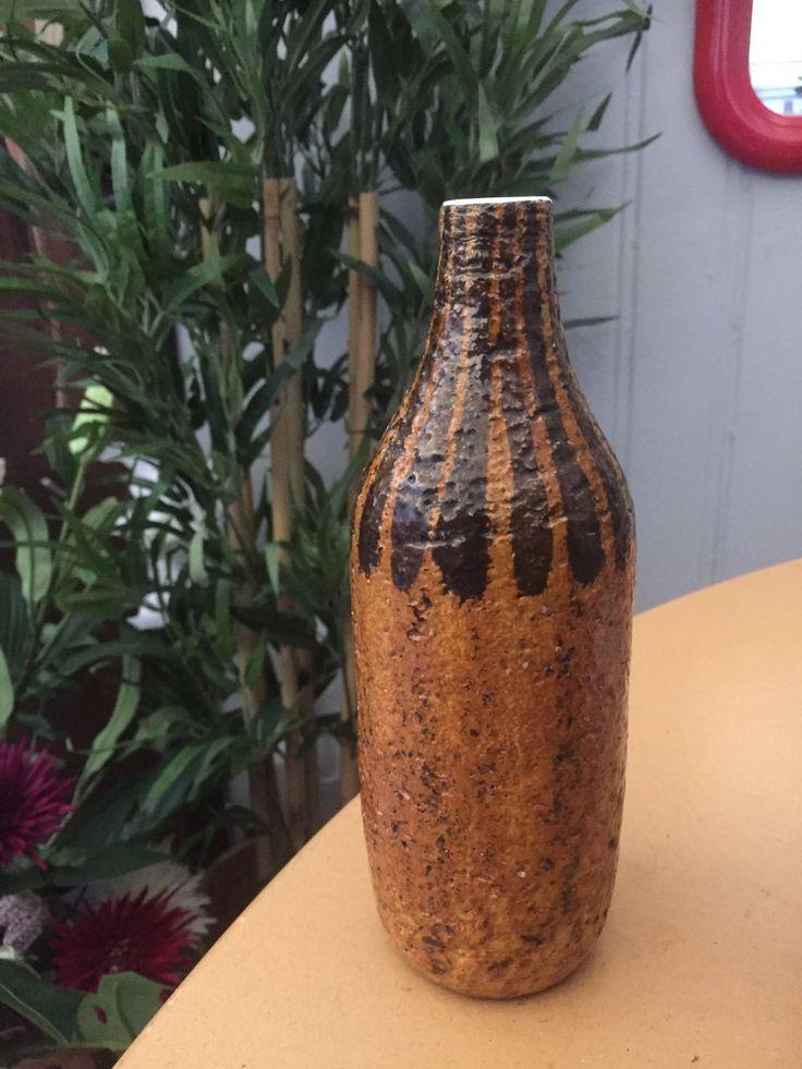 Upsala Ekeby/ceramic vase/Mari Simmulson/1960-62/ vase: Eritea by WifinpoofVintage on Etsy