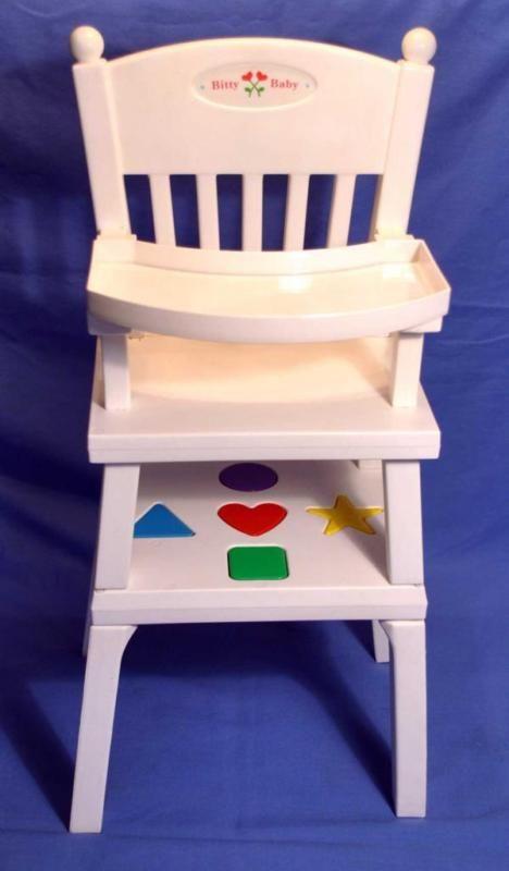 Watch more like American Girl High Chair – American Girl Bitty Baby High Chair