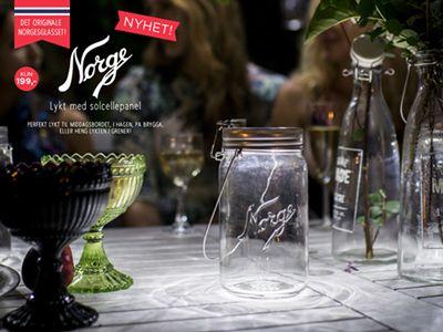 Nederst i havna: DIY: Lys i Norgesglass