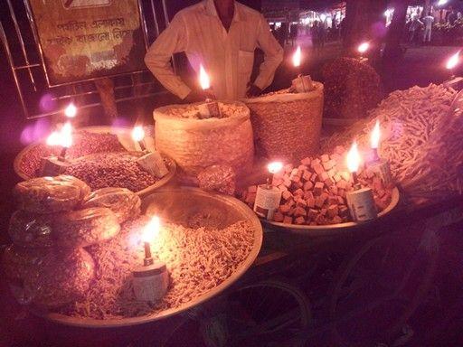 Food-street in Cox's Bazar, Bangladesh