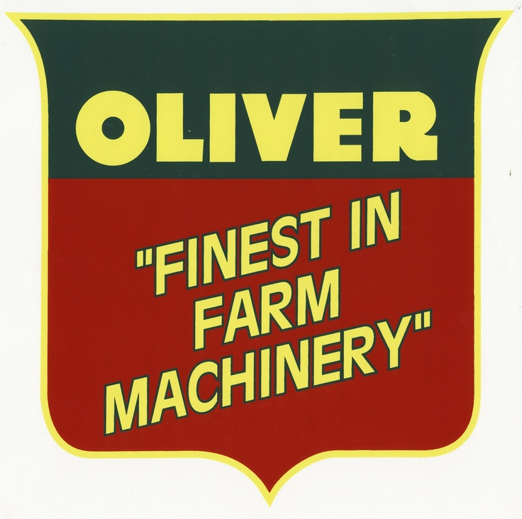 50 best oliver images on pinterest | antique tractors, farming and