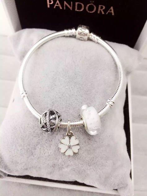 50% OFF!!! $119 Pandora Charm Bracelet. Hot Sale!!! SKU: CB01114 - PANDORA Bracelet Ideas