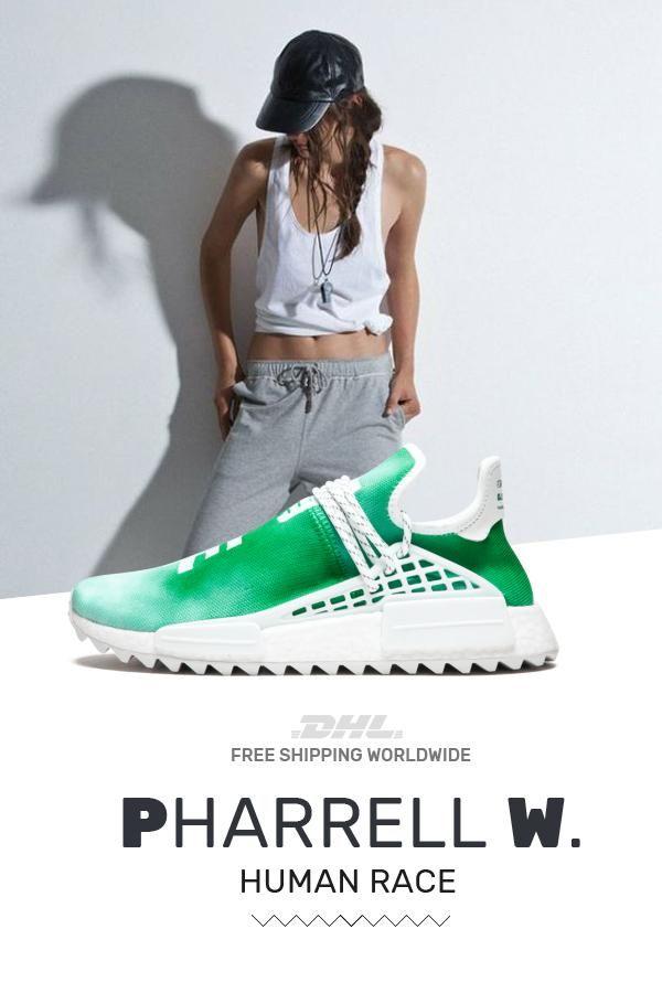 Buy new Human Race Adidas HU Holi Green