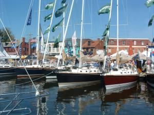 Check Out the Boats at the Annapolis Boat Shows: Annapolis Sailboat Show