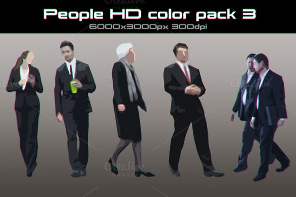 People HD color pack 03 by stallfish's art store on @creativemarket