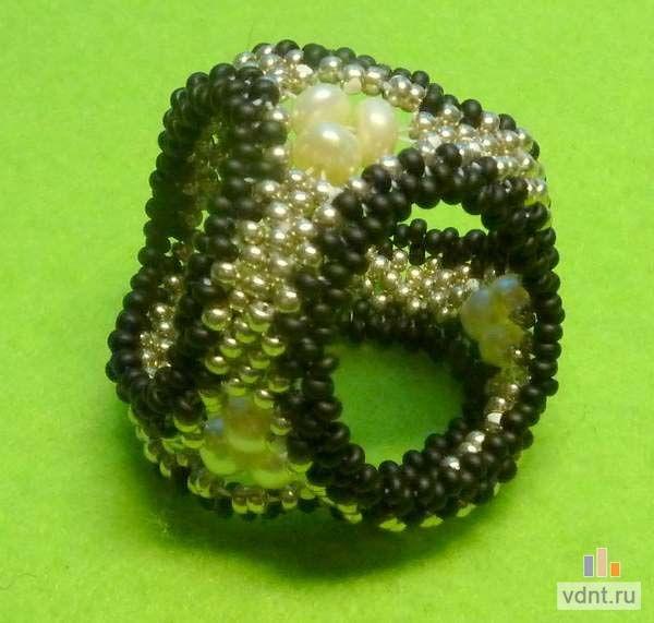 Кольцо для платка - делаем из бисера своими руками   ВДНТ