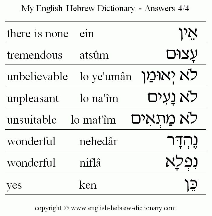 best 25  english to hebrew ideas on pinterest