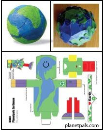 Make an Earthman box and other free Earthday Activities!