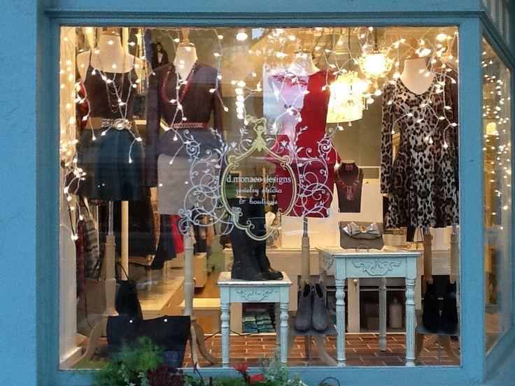 Holidays fashion clothing store